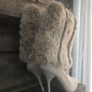 ce20c3d35 Nina Shoes - NINA Faux Fur Stiletto Boots